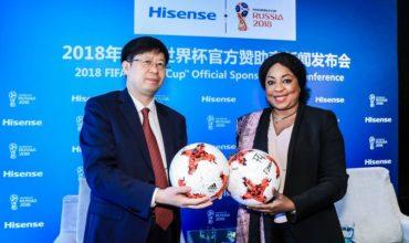 Hisense se convierte en Patrocinador Oficial de la Copa del Mundo de la FIFA Rusia 2018