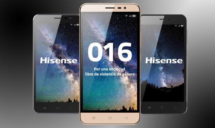 El 016 ya no deja rastro en los móviles Hisense