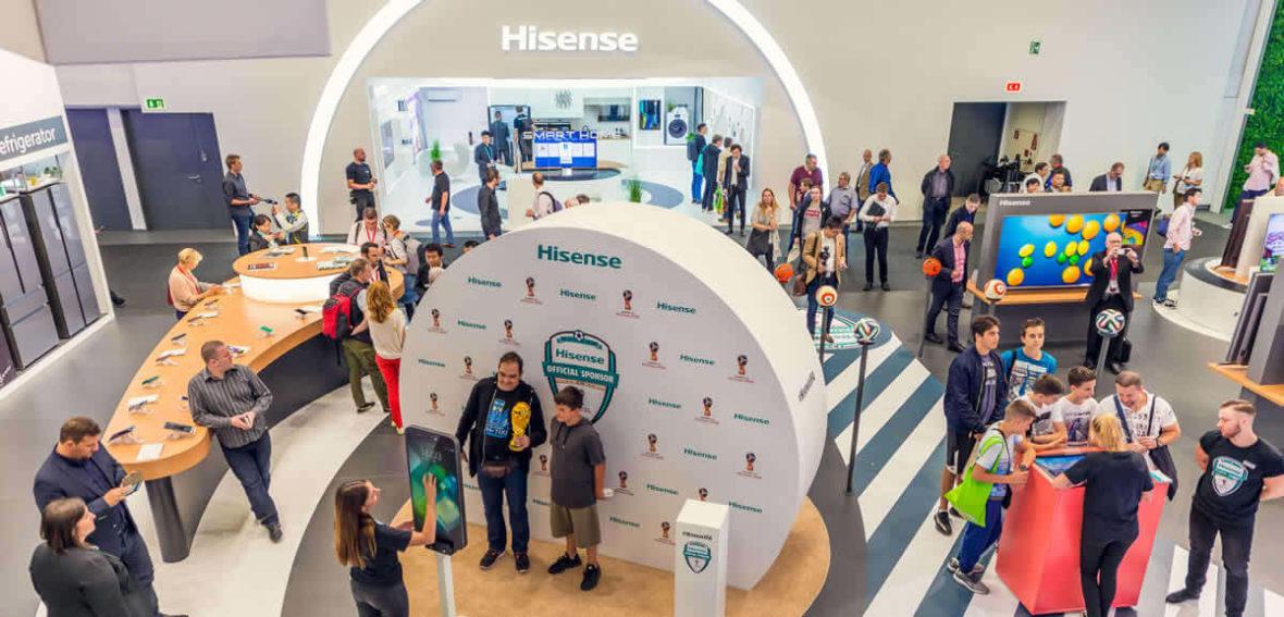 Innovación y tecnología, atributos de las novedades de Hisense en IFA