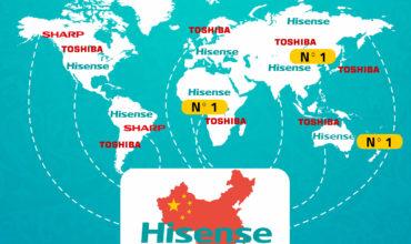 Hisense adquiere formalmente Toshiba Television Business
