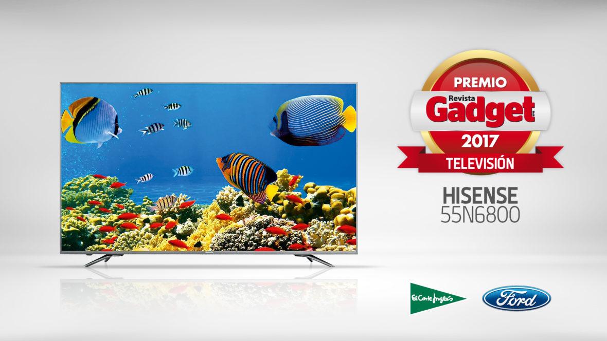 Hisense, galardón a la Mejor TV en la VII edición  de los Premios Gadget
