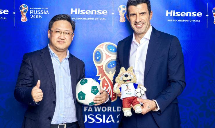 Luis Figo protagoniza el nuevo spot de HISENSE para el entorno digital
