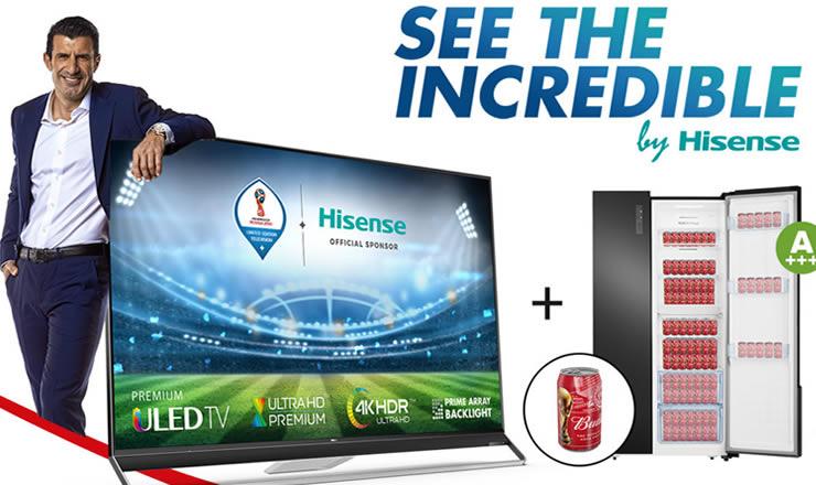 HISENSE y Budweiser harán de la FIFA World Cup una experiencia única para sus clientes