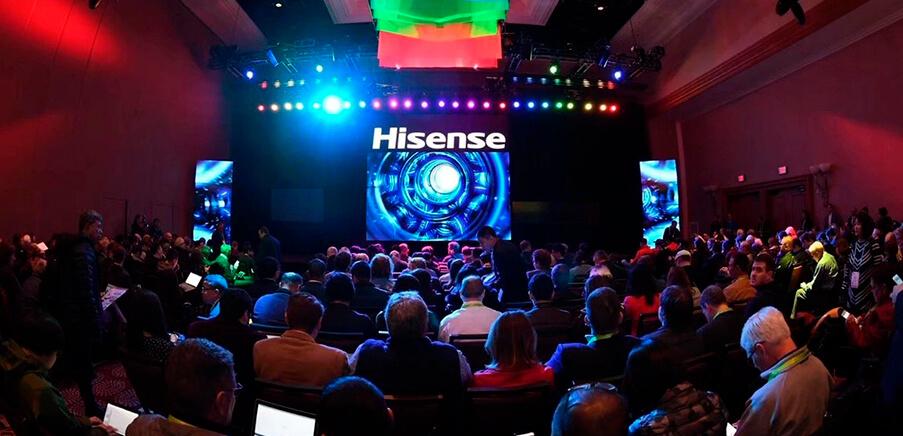 Hisense estrena los últimos avances en tecnología y visualización en el CES con la presentación de la TriChroma Láser TV y la Sonic One TV extrafina