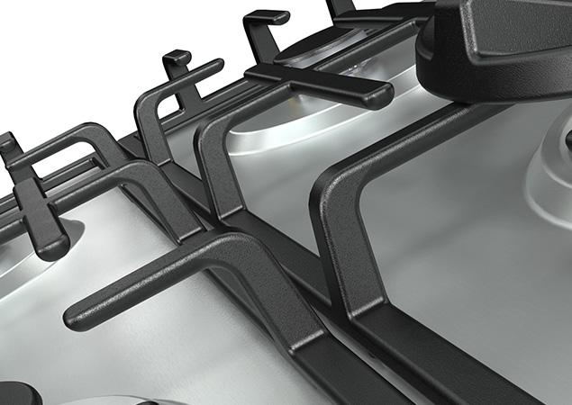 Placa de gas GM663X
