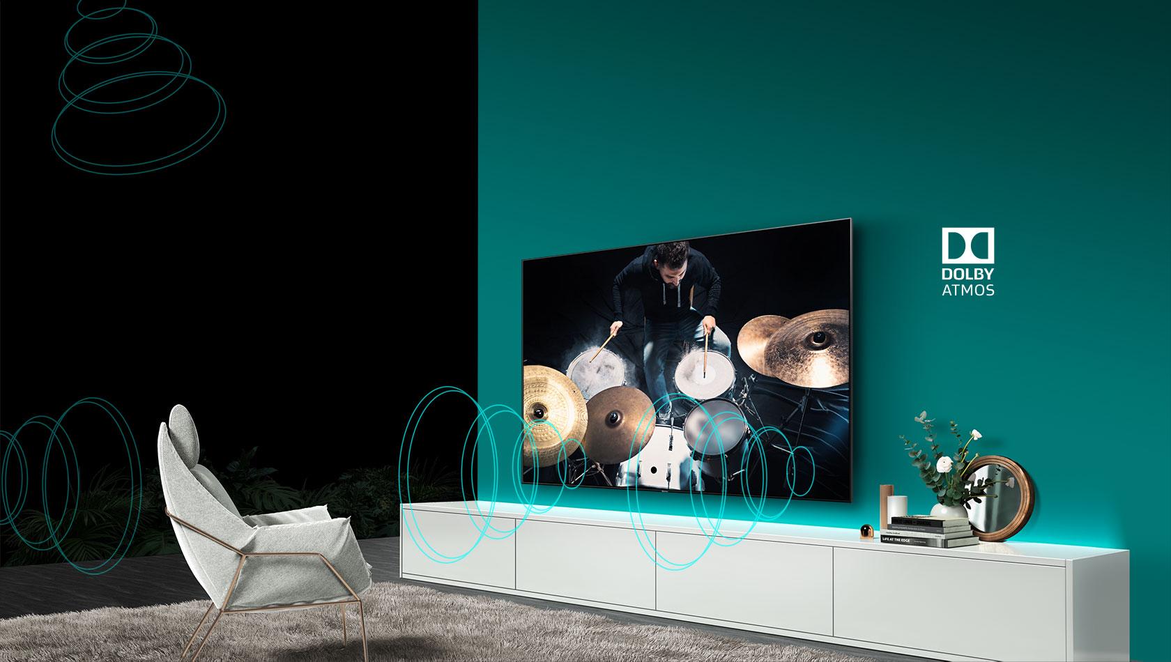 ULED TV H55U8B 55″