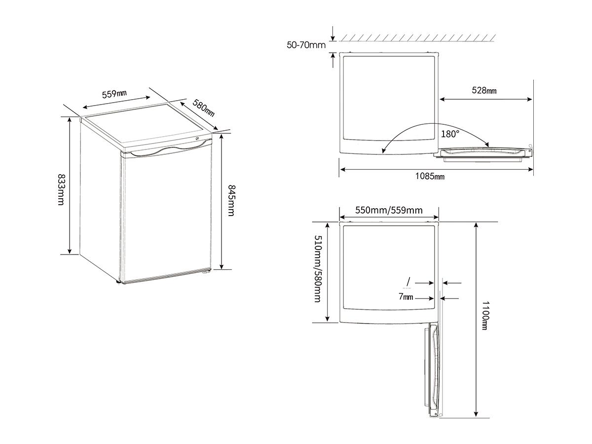 Vertical Congelador vertical FV105D4AW2 A++