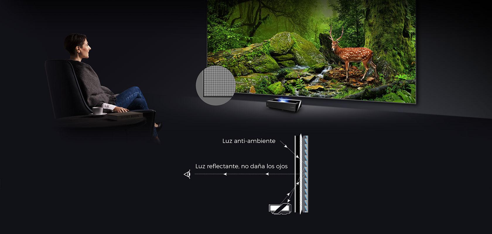 Laser TV H80LSA 80″