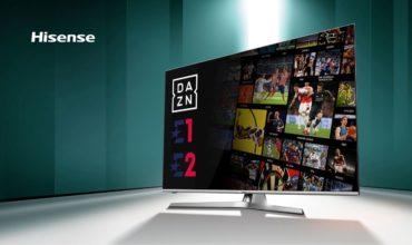 Hisense ofrece la más completa programación deportiva gracias al acuerdo entre DAZN y Discovery