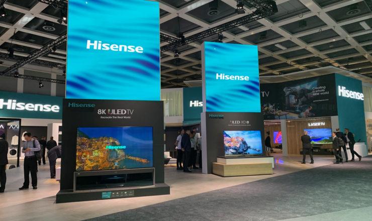 Hisense lanza en IFA 2019 VIDAA U4 y una completa gama de televisores con los últimos avances tecnológicos del mercado