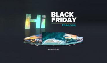 Hisense celebra el Black Friday con descuentos exclusivos en sus mejores productos