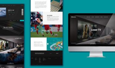 Hisense renueva su web con un diseño interactivo y elegante adaptado a las necesidades de sus usuarios