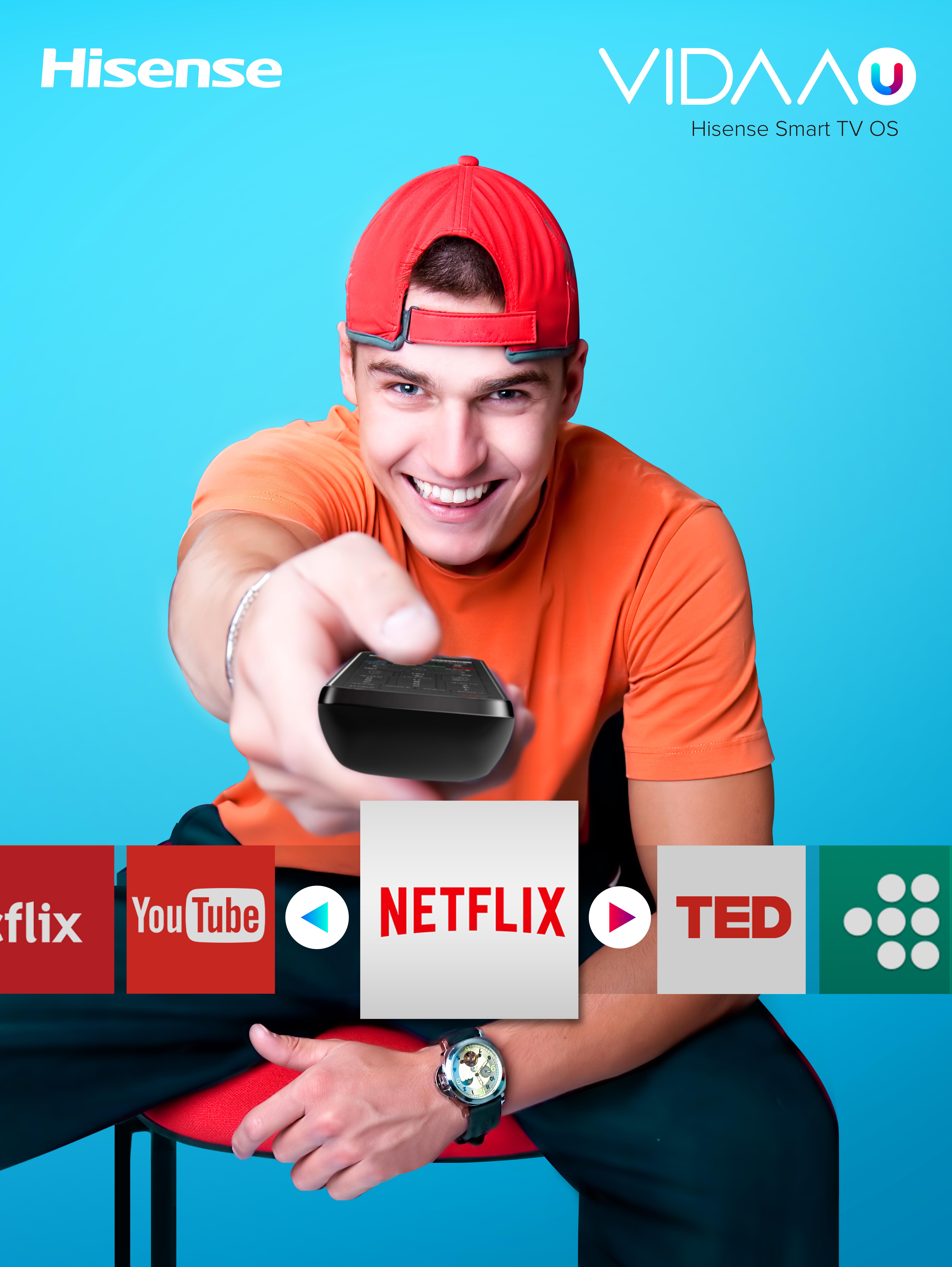 hisense smart tv video