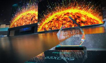 """AVSForum premia la tecnología, el diseño y el desarrollo del ULED XDG9 de Hisense como """"Lo mejor de CES 2020"""""""