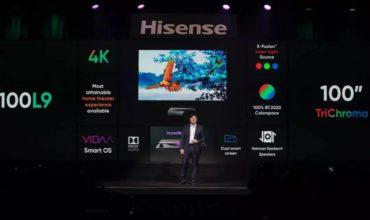 Hisense presenta en CES 2020 su nueva gama de Laser TV para liderar la última tecnología cinematográfica en hogares de todo el mundo