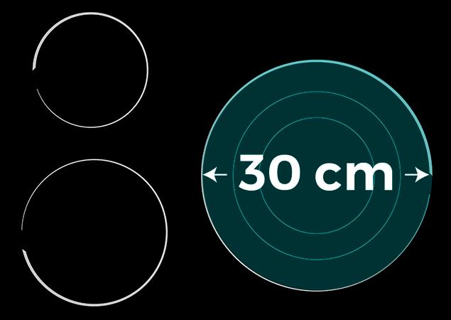 Placa de vitrocerámica E6322C