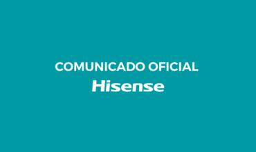 Comunicado oficial Hisense sobre el Covid-19