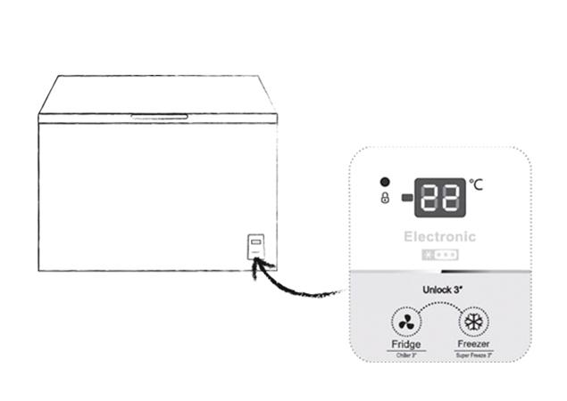 Arcón congelador FT237D4BW21 A++