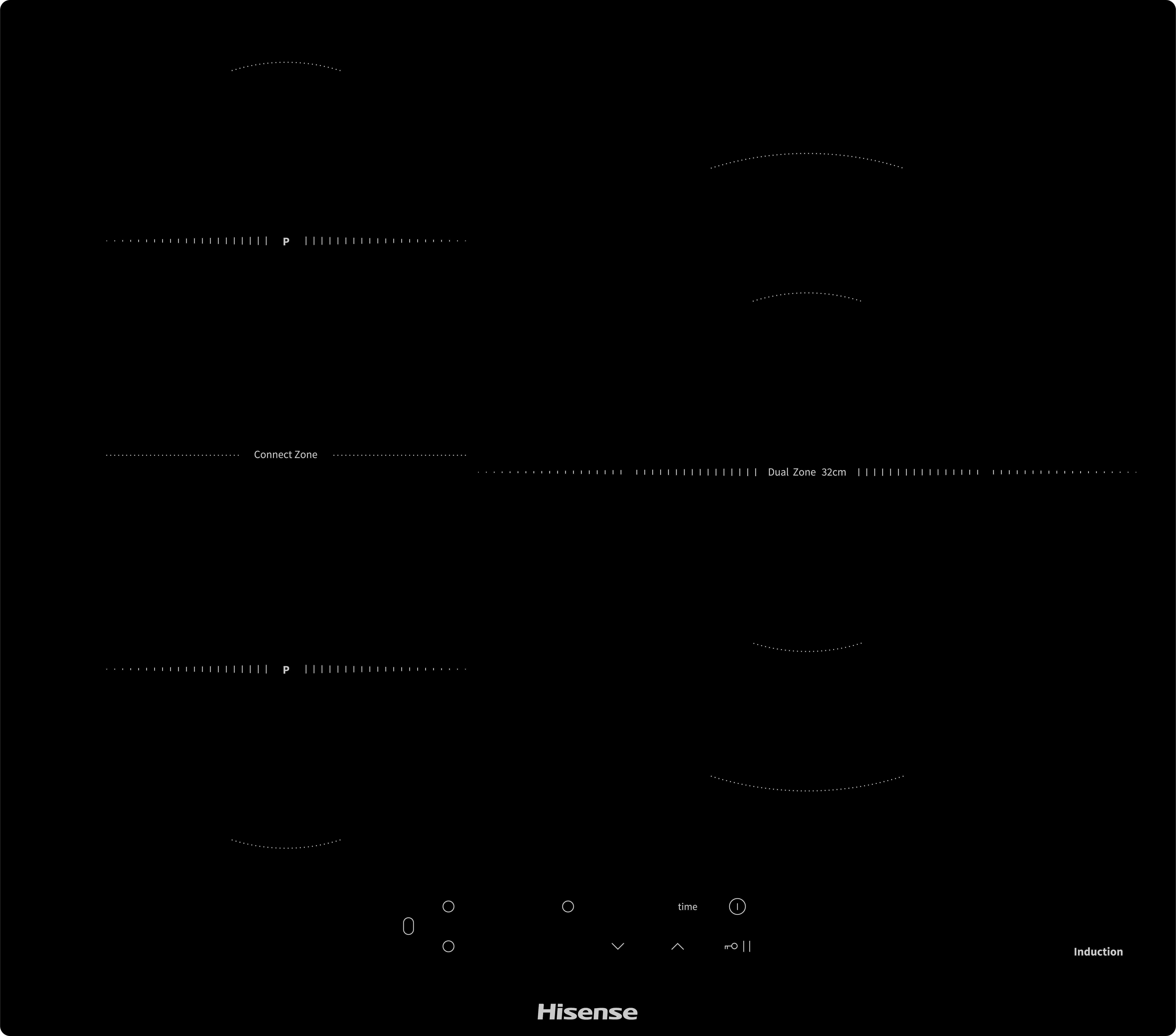 Inducción Placa de inducción I6337C