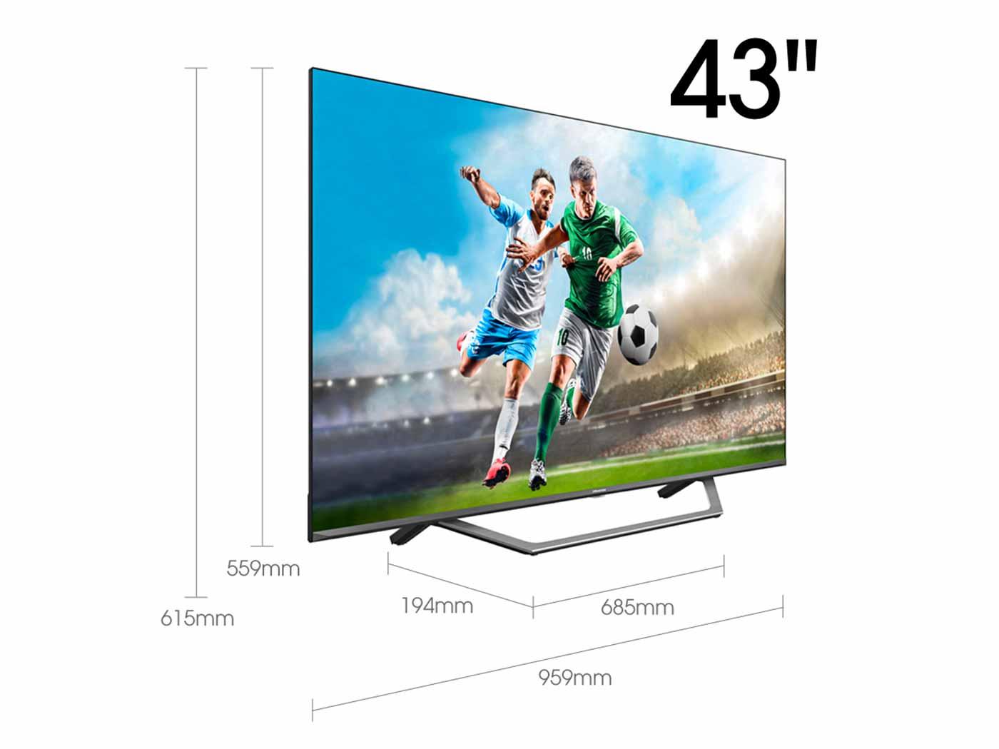 UHD TV UHD TV 43A7500F 43″