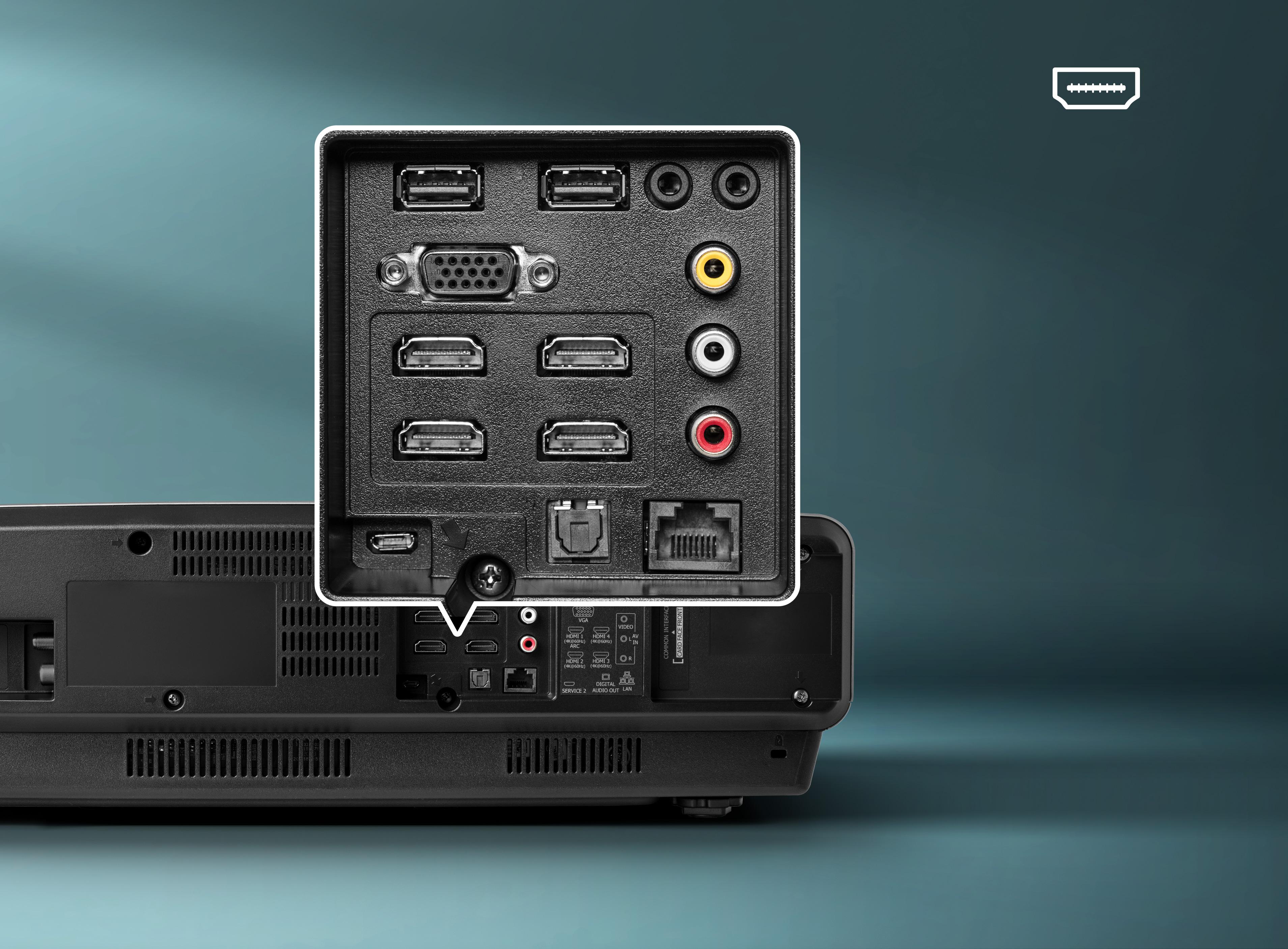 Laser TV 100L5F-A12 100″