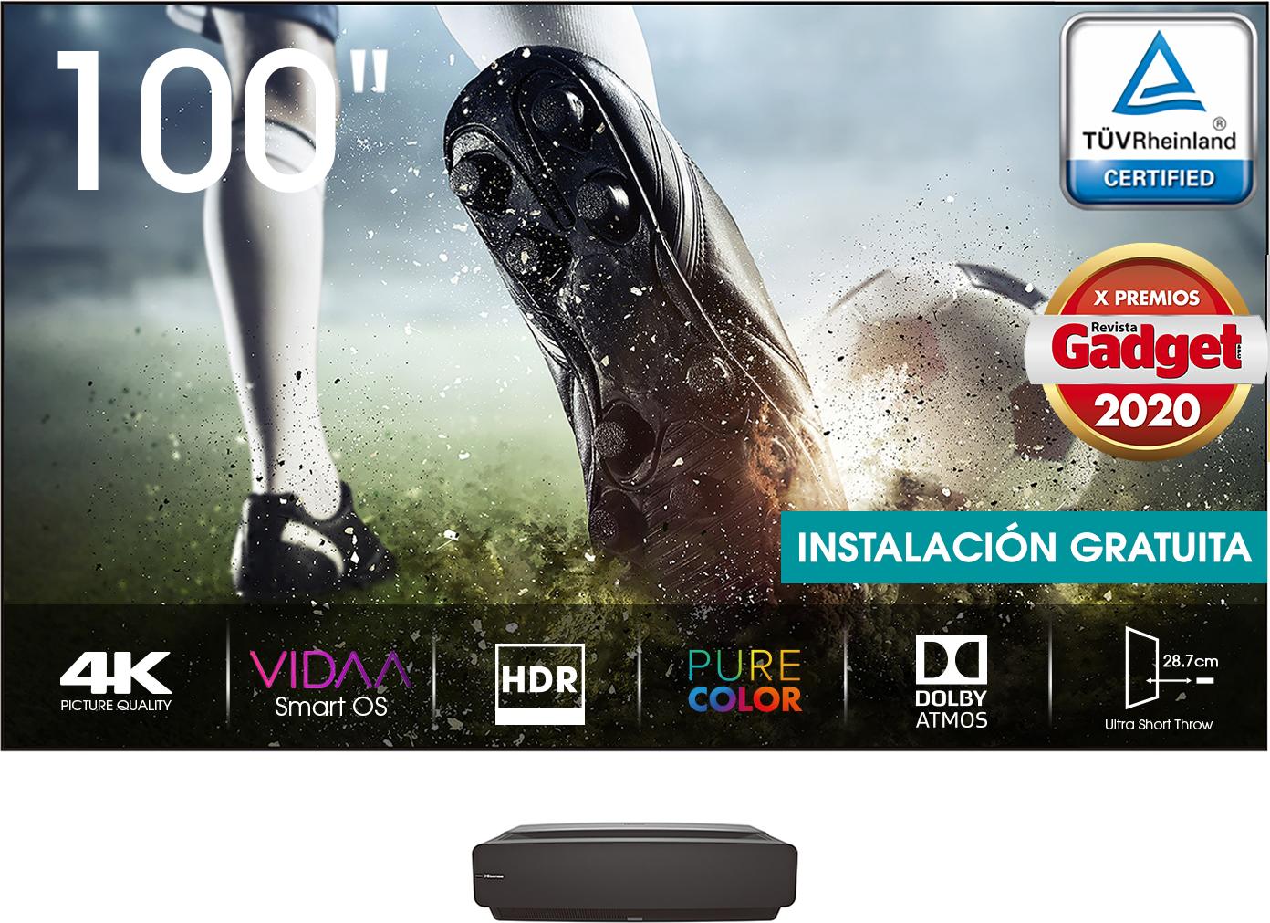 Laser TV 100L5F-A12 100