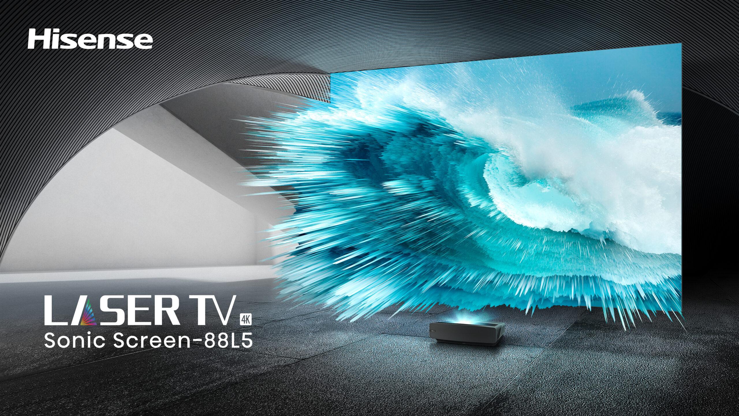 Laser TV 88L5V 88″