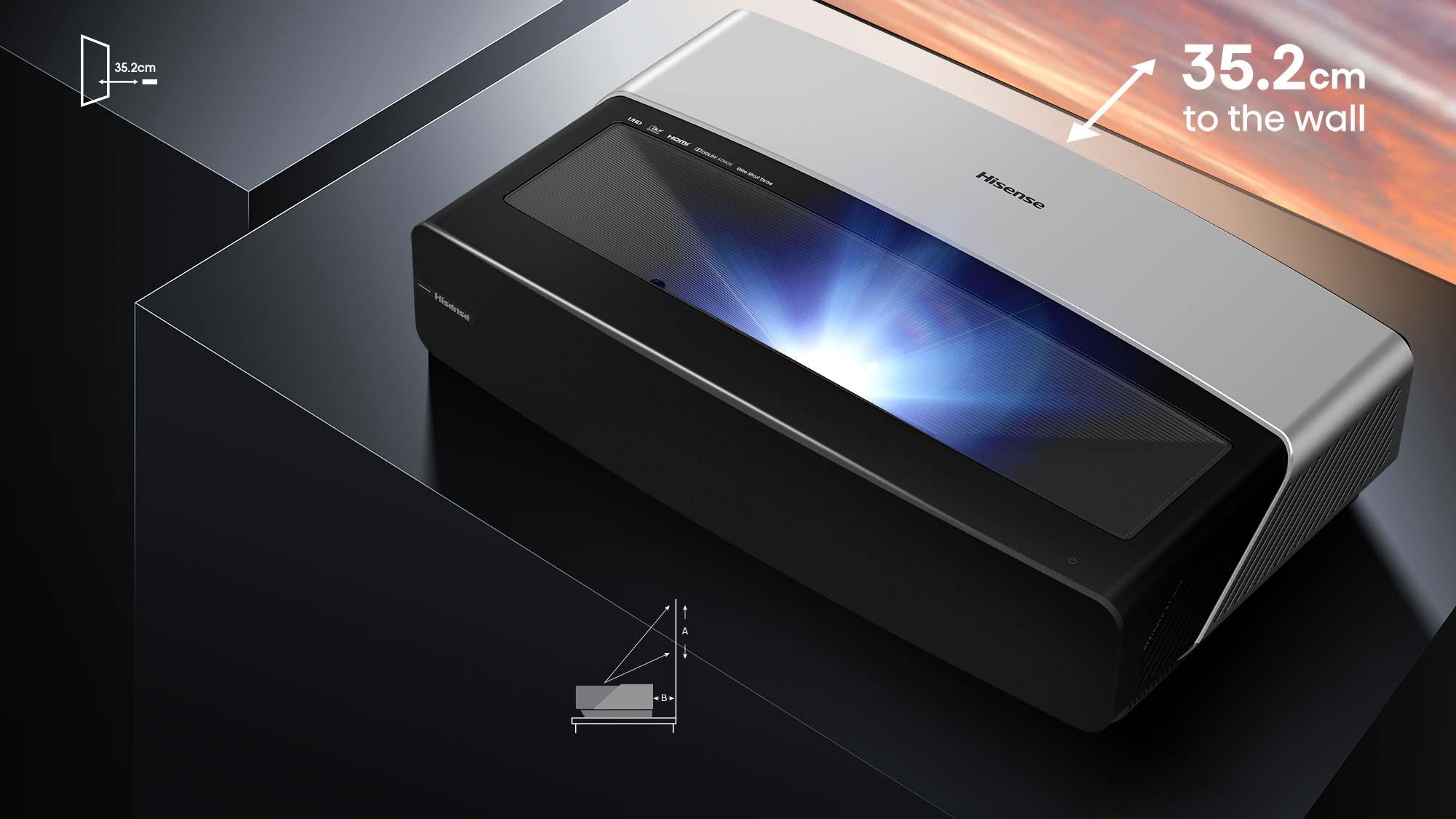Laser TV HE120L5 120″