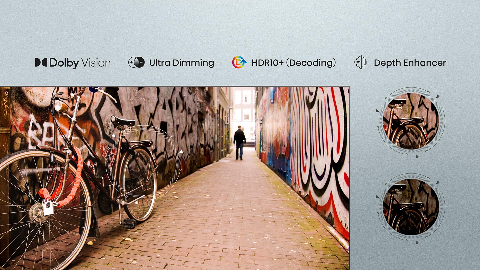 UHD TV 50A7GQ 50″