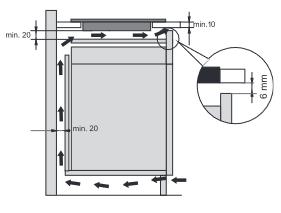 Icono instalación cajón inferior